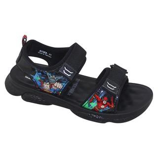 Sandal bé trai Bita s SJOB.03 (Xám + Đỏ + Đen) thumbnail