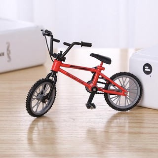 [CARE] Mini Finger Mountain Bikes Diecast Niel Alloy Stents Finger Bicycle