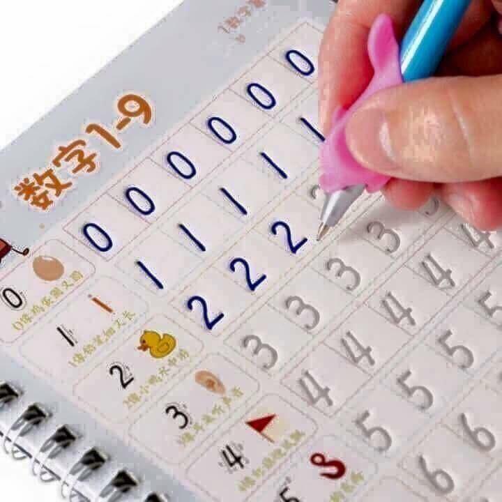 Bộ thẻ học thông minh tập viết xóa được dành cho các bé