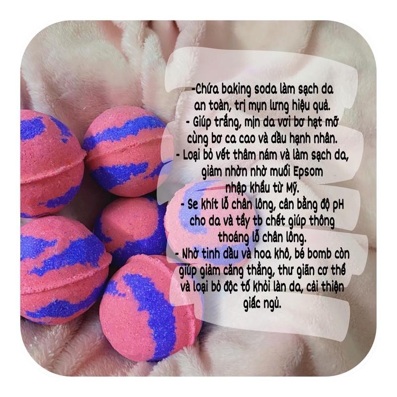 Bom tắm kẹo ngọt (Candy Bath Bomb)
