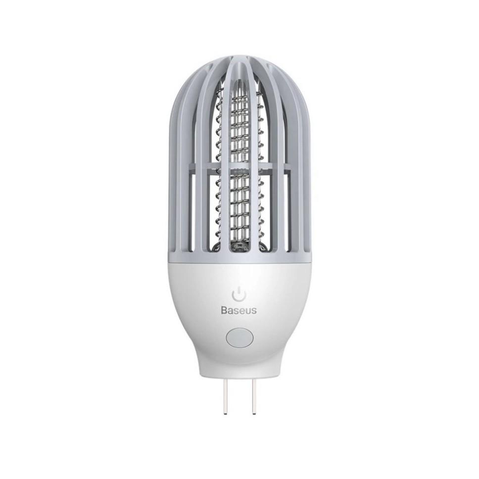 Đèn ngủ Baseus Linlon Outlet 2 in 1 hỗ trợ bắt muỗi diệt côn trùng bảo vệ gia đình bạn