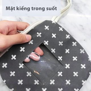 Túi mini để đồ đa năng có dây kéo