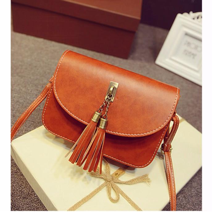 Túi đeo nữ thời trang hàn quốc HOTFASHION TM56 ( NÂU )