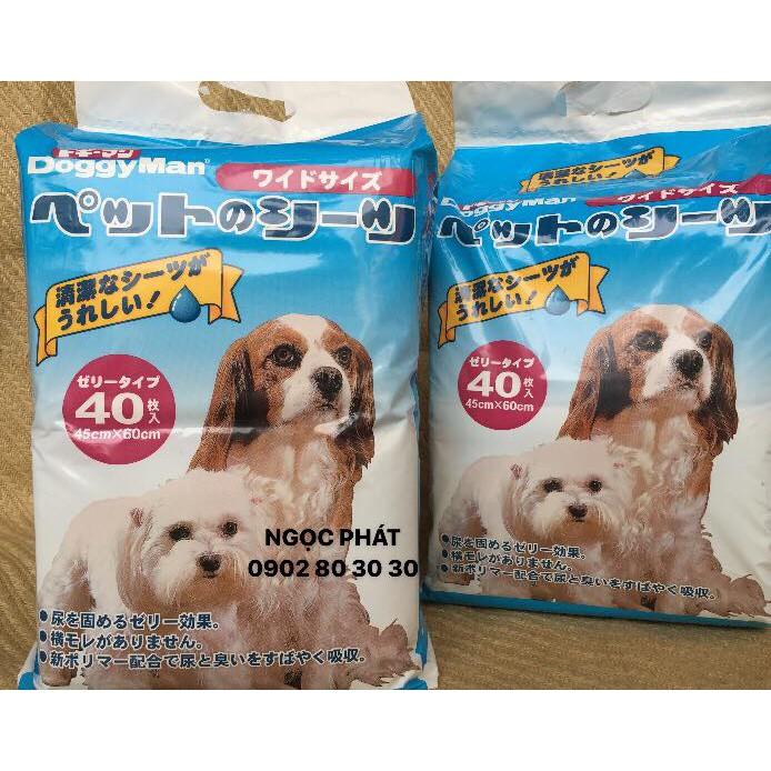 Giấy lót vệ sinh cho chó mèo Doggy Man (40 cái/1 túi)