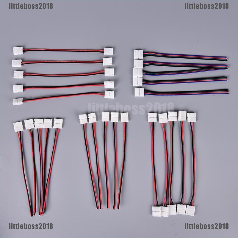 Bộ 5 thiết bị kết nối đèn smd led 5050/5630/3528 rgb chuyên dụng