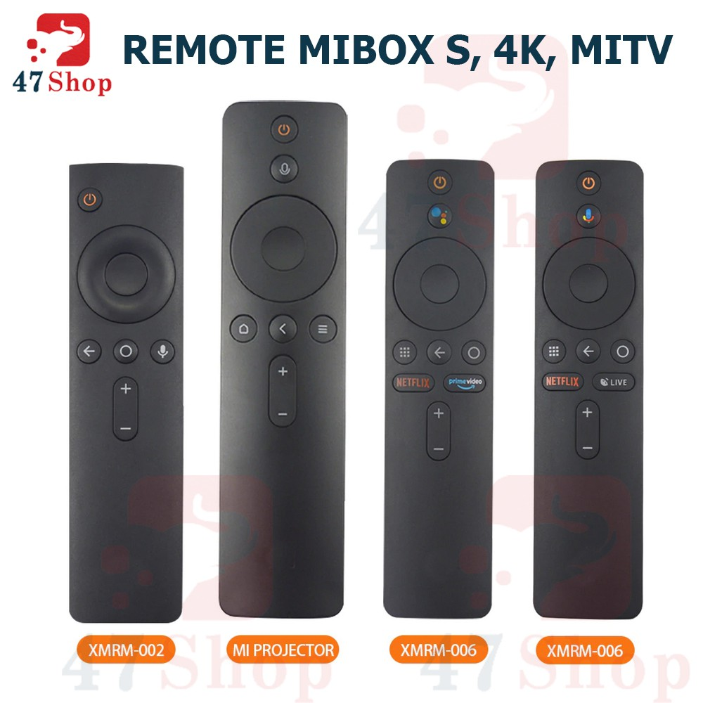 Remote Voice Search tìm kiếm giọng nói Mibox S / Mibox 4K / Mi TV / Mi Stick / Mi Projector
