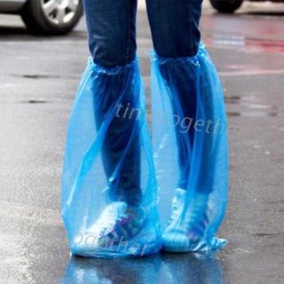 Bọc Giày Đi Mưa Bằng Nhựa Dày Chống Thấm Nước