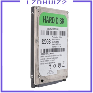 SATA Ổ Cứng Trong Leseurs 2.5 Trong 8m Cache Hdd Cho Laptop Notebook 320gb