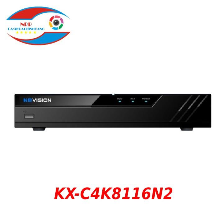 Đầu ghi hình camera IP 16 kênh KBVISION KX-C4K8116N2 - Hàng Chính Hãng