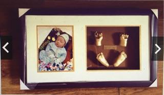 Bộ bột kít làm tượng tay chân 3D cho bé