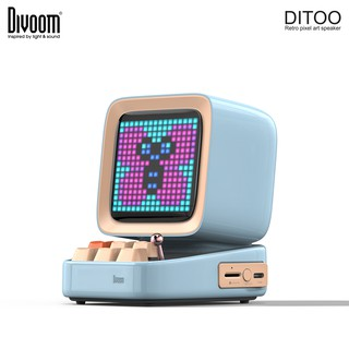 [Mã ELMALL300 giảm 7% đơn 500K] Loa Bluetooth Divoom DiToo 10W