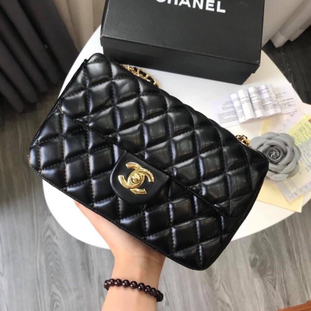 Túi đeo chéo classic hàng Quảng Châu size 22