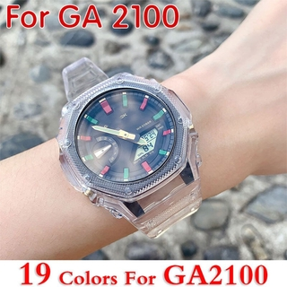 Dây Đeo Và Khung Nhựa Trong Suốt Cho Đồng Hồ Ga2100 Ga-2100