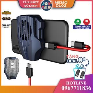 Memo DL02 Quạt tản nhiệt điện thoại làm mát bằng sò lạnh như quạt black shark pro thumbnail