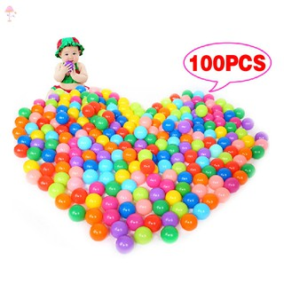 #New product# 100Pcs Colorful Ball Ocean Balls Soft Plastic Ocean Ball Baby Kid Swim Pit Toy @VN