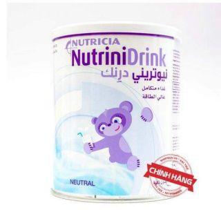 Sữa Nutrinidrink powder Nutricia vị trung tính cho trẻ chậm tăng cân hộp 400g