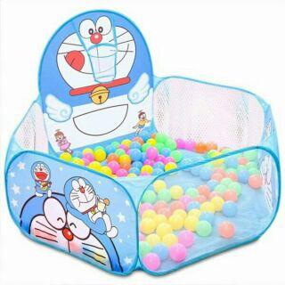 Lều nhà banh tặng kèm 100 quả bóng cho bé