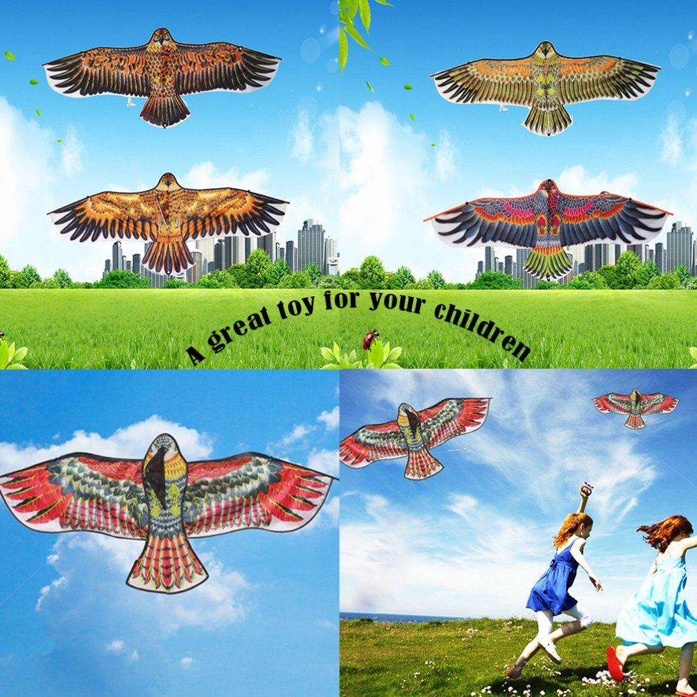 Diều hình chim đại bàng dài 1.1m nhiều màu cho bé