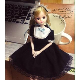 Trang phục Maid Nhật Bản-tặng mũ lolita