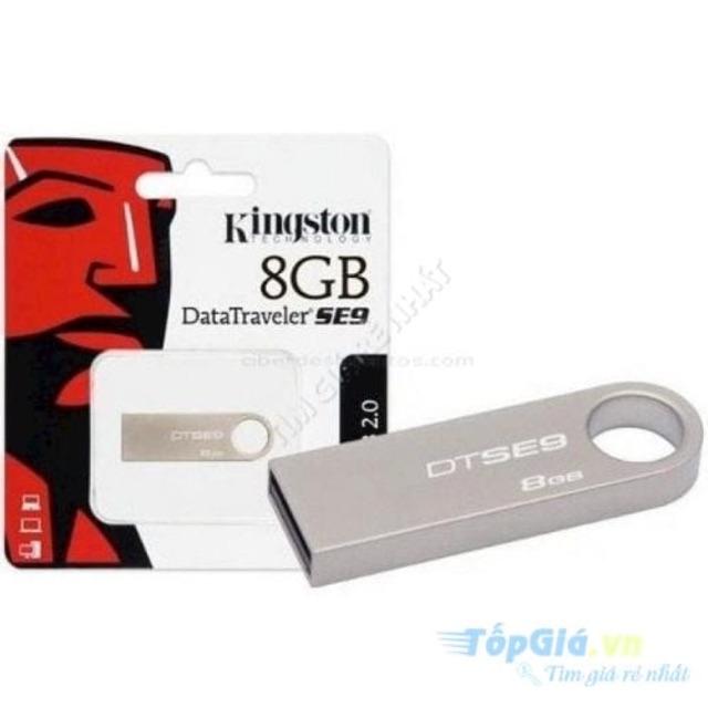 Combo 11 chiếc USB kingston mạ bạc 8GB BH 12 tháng (tham khảo thông tin chi tiết SP – sản phẩm DL thật 1gb) Giá chỉ 450.000₫