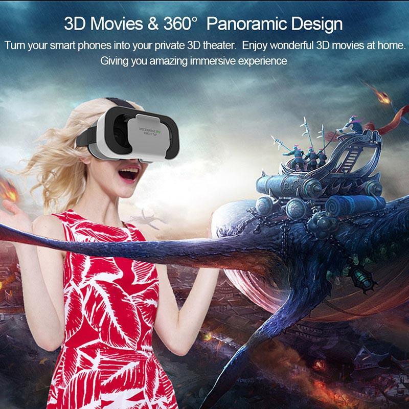 Kính Thực Tế Ảo 3D VR Shinecon 5.0 Cao Cấp - kính thực tế ảo chơi game,kính thực tế ảo xem phim