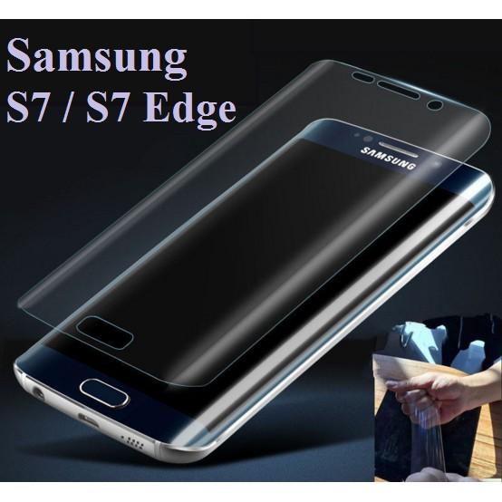 Combo 3 Miếng dán dẻo cho Samsung S7 Edge