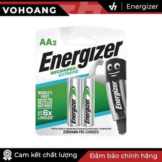 Bộ 2 pin sạc AA Energizer Recharge Extreme 2300mAh (Bạc) thumbnail