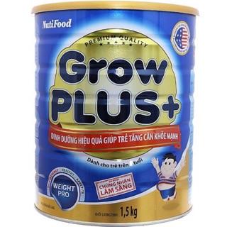 [Mã FMCG1212 giảm 8% đơn 500K] SỮA GROWPLUS XANH NUTIFOOD 1500G thumbnail