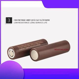 CELL PIN 3.7V 18650 3000 mAh ổn định chất lượng LG HG2 XẢ 20A