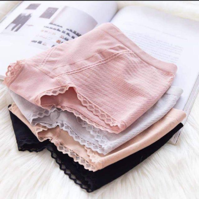 QUẦN LÓT ĐÙI mặc váy nâng mông, kháng khuẩn 4in1