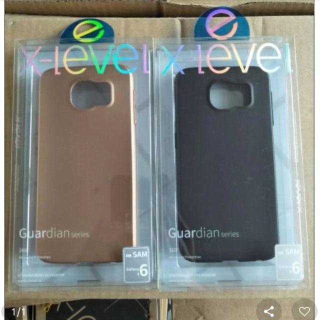 Ốp dẻo Galaxy S6 hiệu X-Level chính hãng