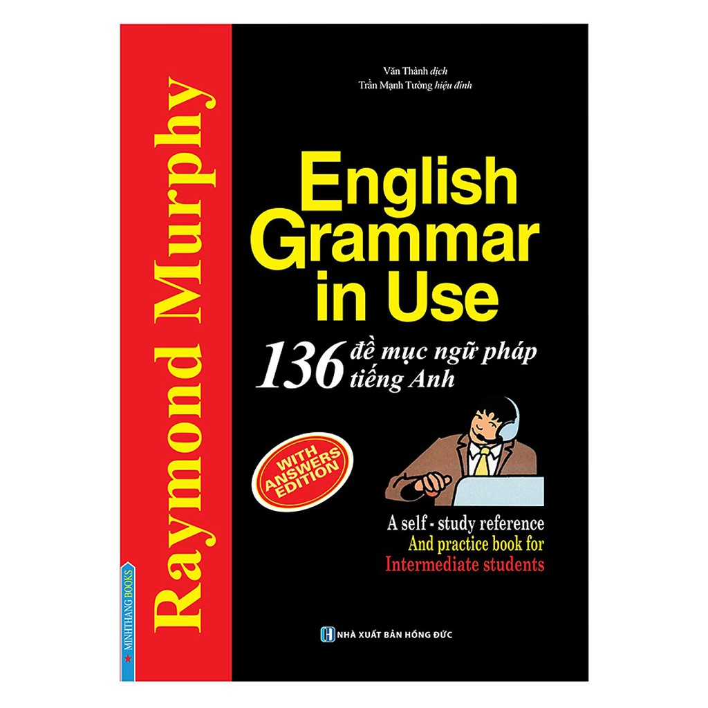 Sách English Grammar In Use - 136 Đề Mục Ngữ Pháp Tiếng Anh