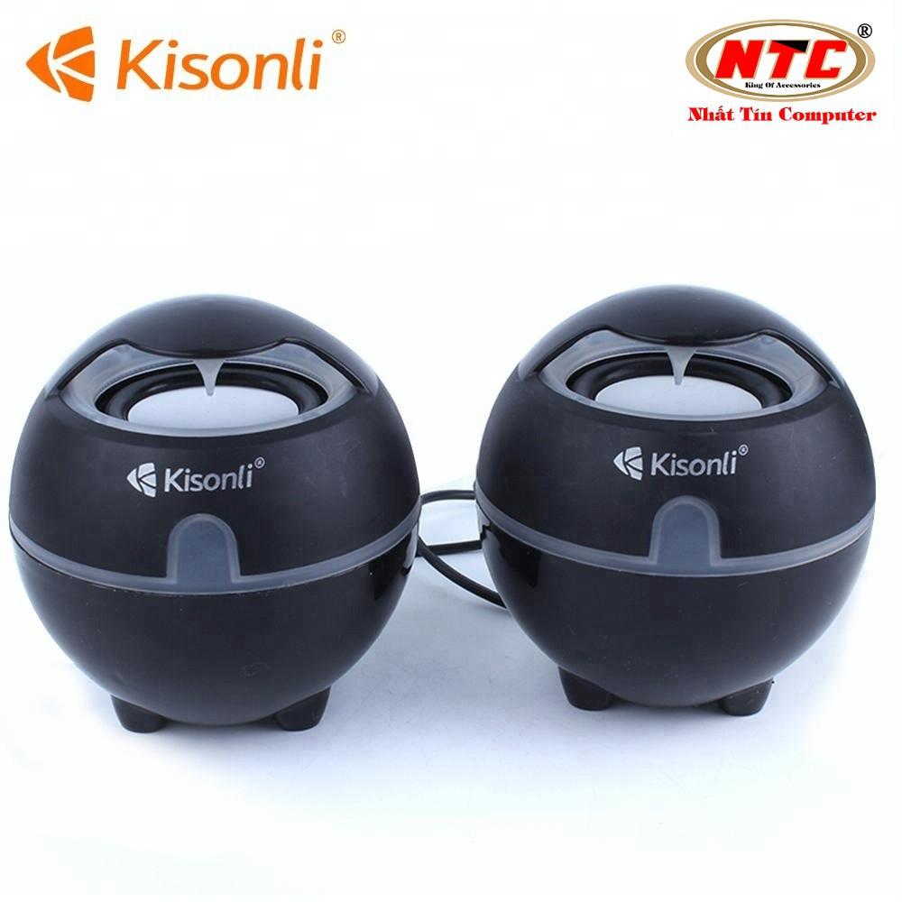 Loa vi tính 2.0 Kisonli S-999 - Bảo Hành 12 Tháng (Màu ngẫu nhiên)