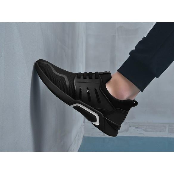 [ FULL BOX ] Giày nam thể thao đen hình thật 018
