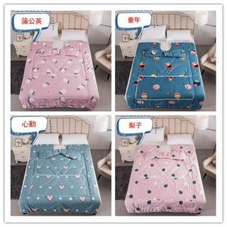 Bộ chăn ga giường phong cách 4 mùa xinh xắn
