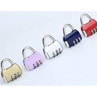Ổ khóa, Khóa Hành Lý 3 Chữ Số Mini Bằng Kim Loại, khóa mật khẩu hình túi siêu xinh thumbnail