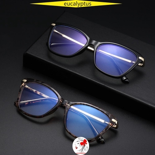 🌱EUPUS🍀 Women & Men Blue Light Blocking Glasses Non-Prescription Eyeglasses Computer Glasses Reading Gaming Glasses Fashion Anti Eye Eyestrain Square Frame Blue Light Blocking