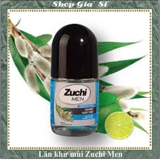 Lăn khử mùi Dược liệu Nam Zuchi Men 25ml