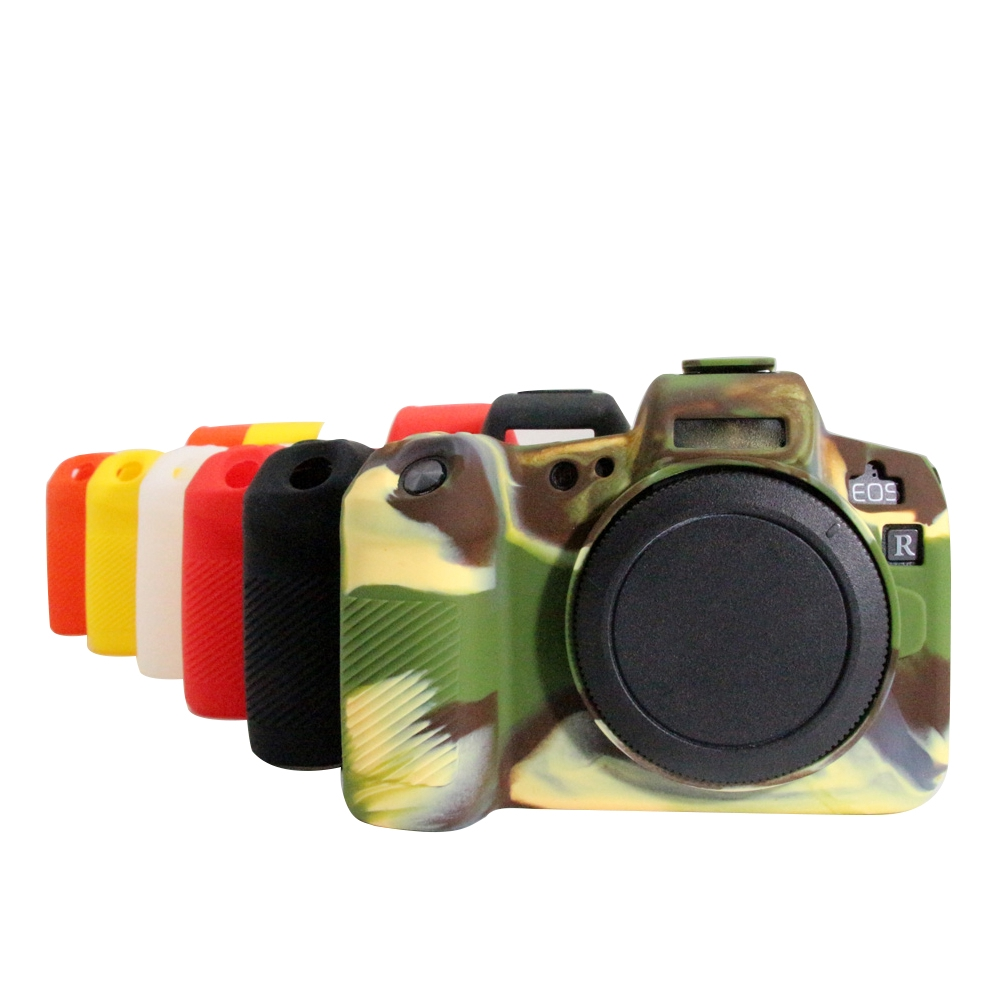 Soft Portable Silicone Scratch Resistant Dustproof Camera Case Practical Accessories For Canon EOSR