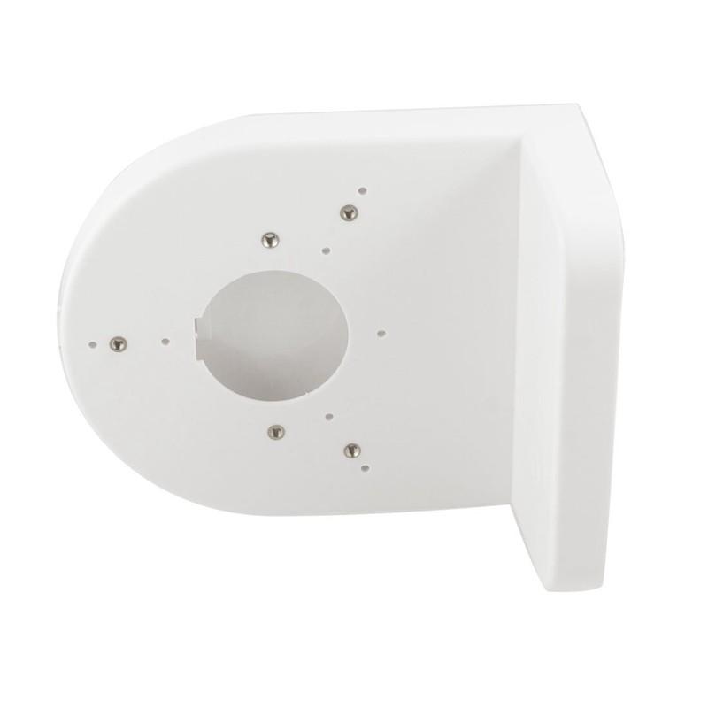 TH XINYI White Plastic Right Angle Bracket Wall Mount Shelf Dome Camera