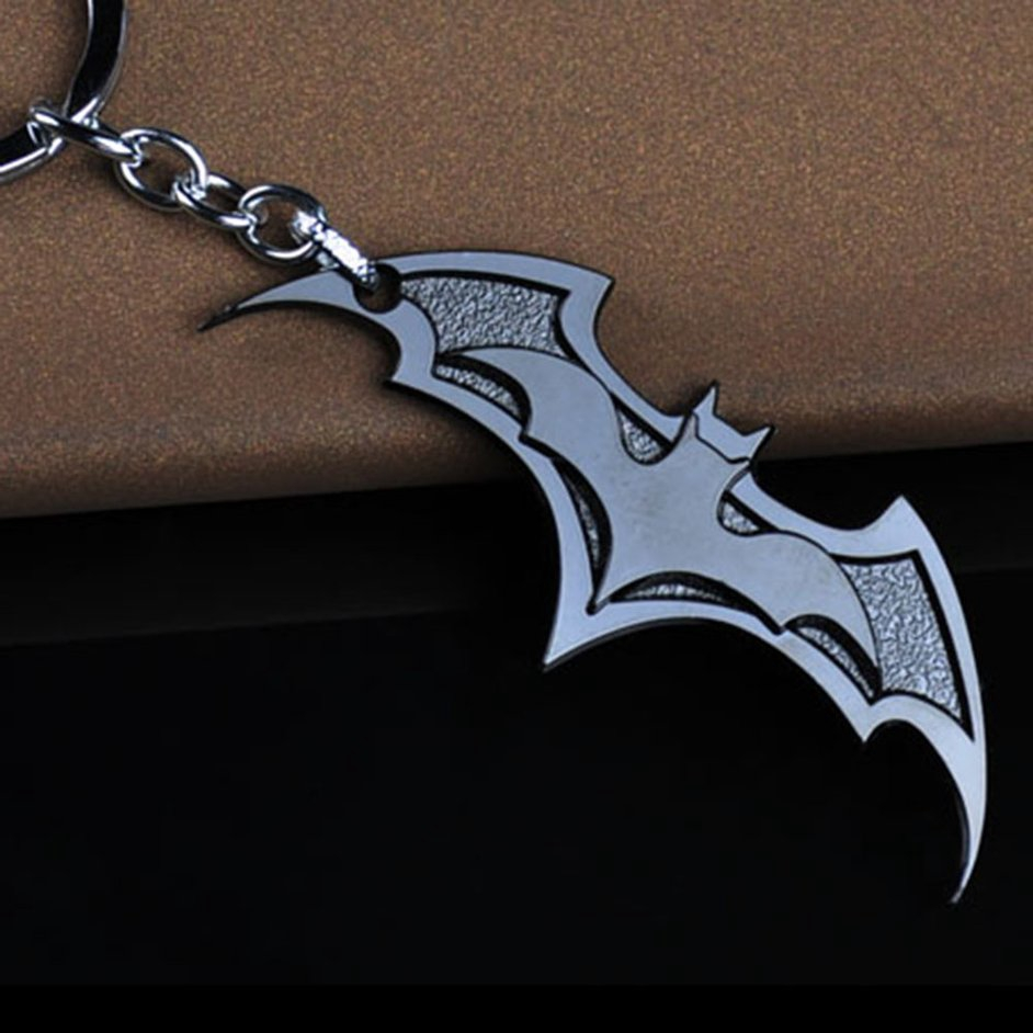 S+Unique Collection Gift for Kids Zinc Alloy Movie Hero Logo Pendant Key Ring