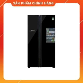 [ VẬN CHUYỂN MIỄN PHÍ KHU VỰC HÀ NỘI ] Tủ lạnh Hitachi  side by side 2 cửa màu đen R-FS800PGV2(GBK)