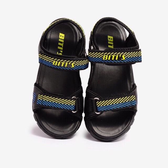 Sandal bé trai 28-33 ❤️FREESHIP❤️ Dép quai hậu học sinh BlTIS đế siêu nhẹ hai quai dán DEB004100