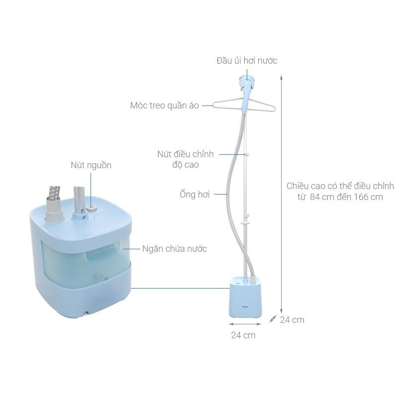 Bàn ủi hơi nước đứng Panasonic NI-GSE050ARA - Hàng Chính Hãng