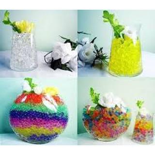 HẠT NỞ 1 MÀU -hạt nở nguyên liệu làm slime ( 500 viên )