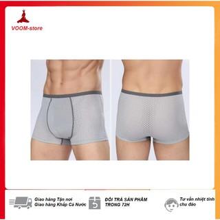 [CỰC HOT] Hộp 4 chiếc quần sịp đùi nam thông hơi (Giao màu ngẫu nhiên) – Kèm hộp giấy