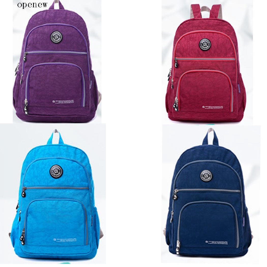 op Unisex High Capacity Waterproof Adjustable Straps School Bag Casual Backpack