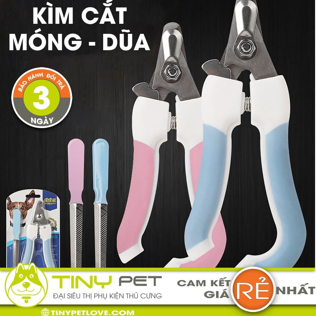 Kìm Cắt Móng Cao Cấp Cho Chó Mèo - Kéo Bấm Móng Chân Kèm Dũa - Đại Siêu Thị Phụ Kiện Thú Cưng TinyPet04