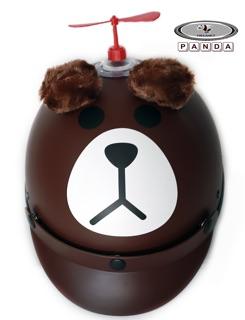 [FREE SHIP] Hàng công ty Mũ Gấu nâu brown kèm tai thumbnail