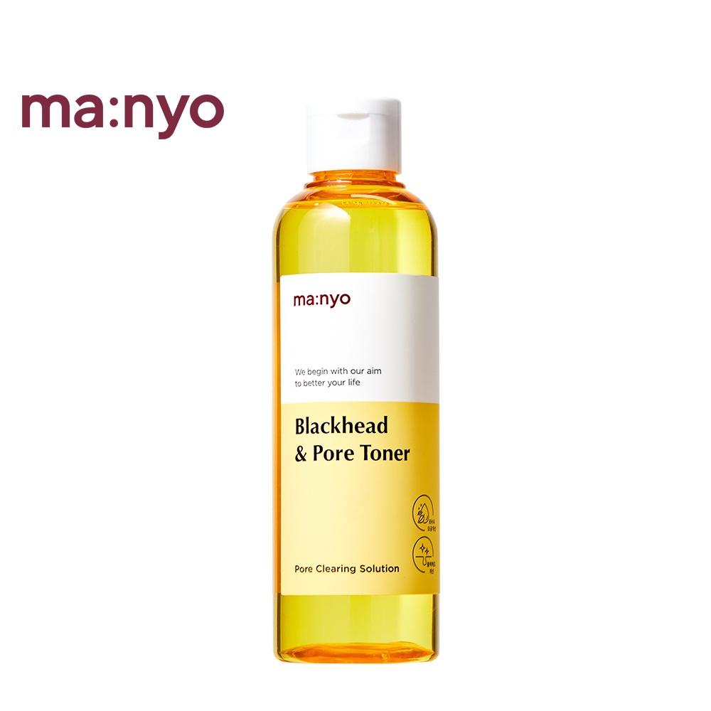 Toner Manyo Factory dưỡng ẩm làm sạch mụn đầu đen se khít lỗ chân lông 210ml